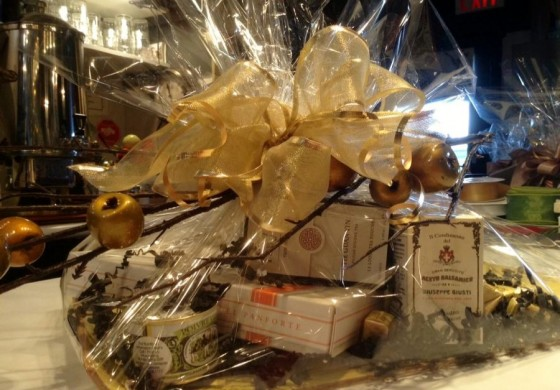Gift Baskets at Herma's! Make a grand statement. NEW $10 fee.