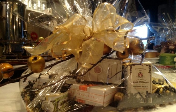 Gift Baskets at Herma's! Make a grand statement this season.