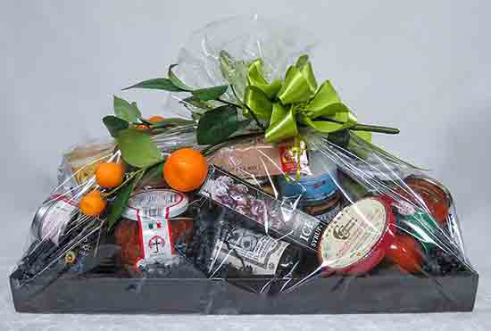 gift basket of foods