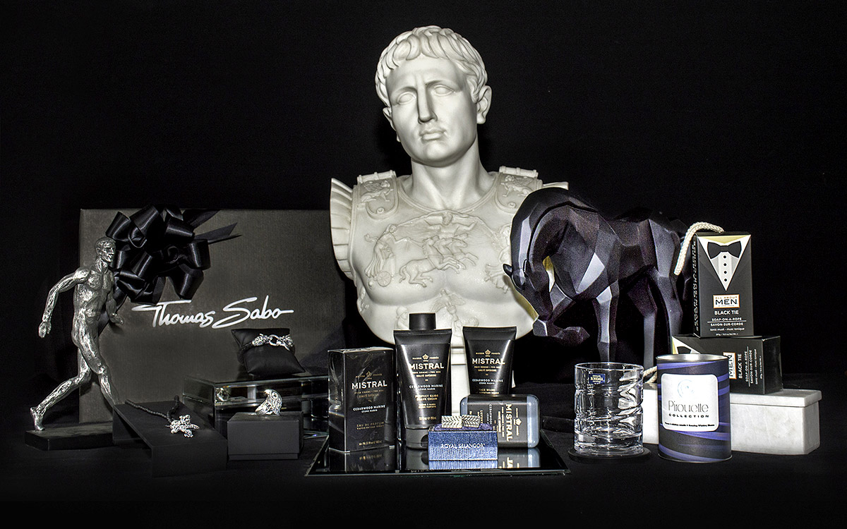 Thomas Sabo, Mistral Body care, Whiskey Glass, Caesar Bust