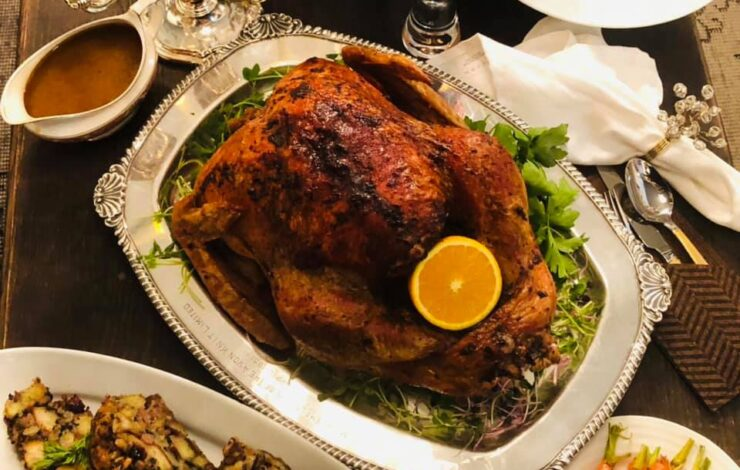 Herma's Christmas Dinner prepared by Chef Zak, Order now!